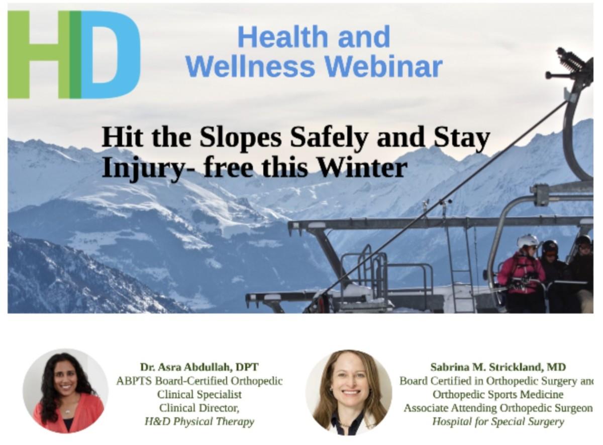 HDPT Webinar Ski Banner